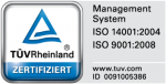 We are TÜV-certified