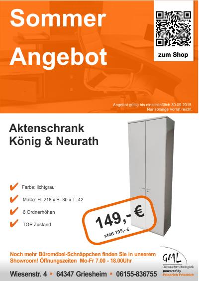 Sommer Angebot Büromöbel | Friedrich Friedrich - Umzugsunternehmen ...