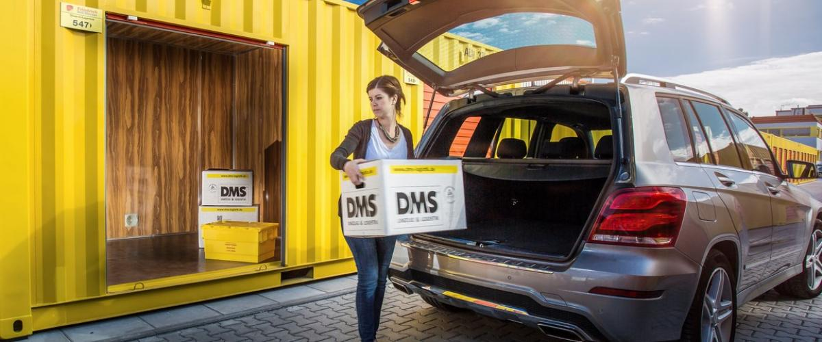 Bequem einlagern per Drive-in in Darmstadt - das ist Selfstorage von heute