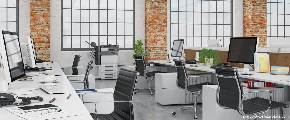 Richten Sie mit gebrauchten Büromöbel namhafter Marken Ihr Büro ein.