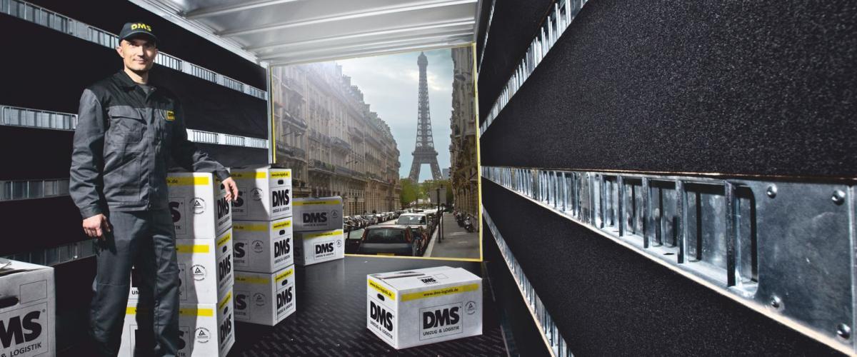 Wir sind Ihre internationale Möbelspedition aus Darmstadt für weltweite Umzüge