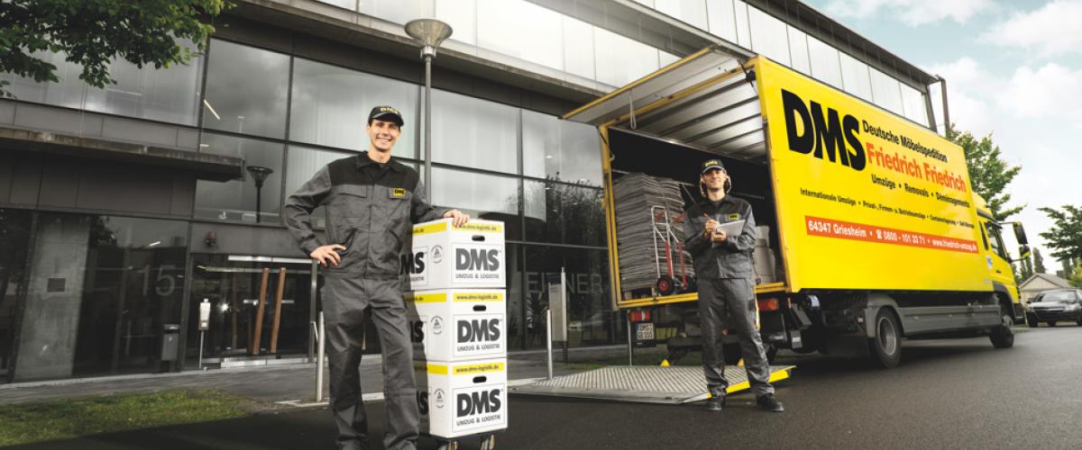 Firmenumzüge, Objektumzüge und Spezialumzüge von Ihrem Umzugsunternehmen aus Darmstadt
