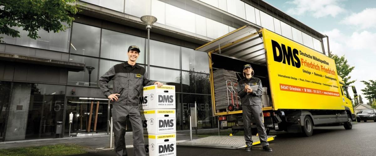 Ihr Umzugsunternehmen in Darmstadt und Rhein-Main