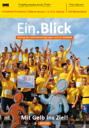 Kundenzeitschrift der Unternehmensgruppe Friedrich Friedrich Höhne Grass J. und G. Adrian KS Büromöbel